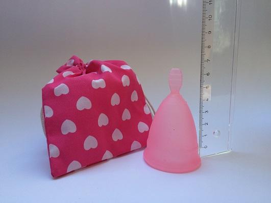 Menstruationstasse Größe auswählen
