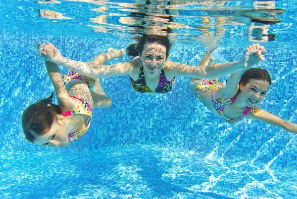 Schwimmen mit Periode